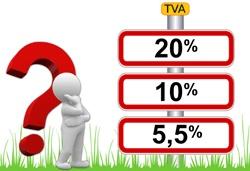 La TVA applicable sur les produits et notamment sur la vente à emporter